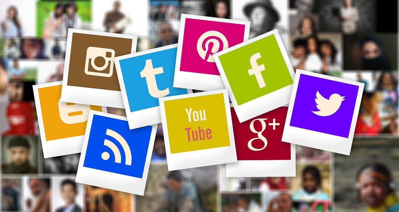 Social media foto's